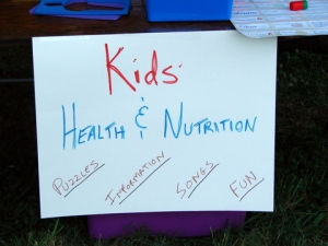 Teaching Nutrition from mouth to... other end