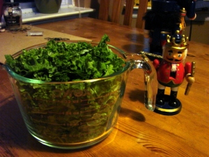 kale in cup