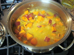 Shweet Potato Stew