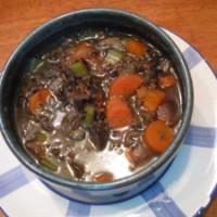 SOTW: Wild Rice and Mushroom Soup