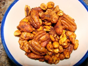 Roasted Chili Lime Nuts w/ Coconut Oil