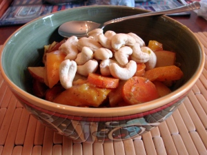 Cashew Carrot Curry