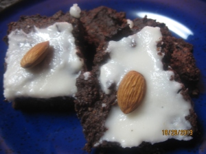 Almond Joy Brownies (GF, DF.... OMG included)